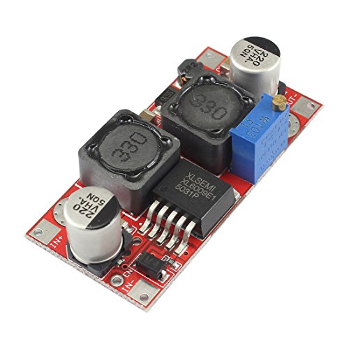 Ailavi XL6009 DC-DC Automatic Boost Buck Converter 5V-32V To 2V-35V Adjustable Voltage Step Up/Down Power Supply Module
