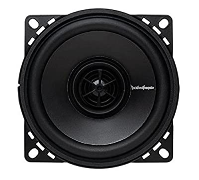 Rockford Fosgate R14X2 Prime 4-Inch Full Range Coaxial Speaker - Set of 2 by Rockford Fosgate