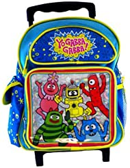 Yo Gabba Gabba Rolling Backpack - Toddler 12 inches