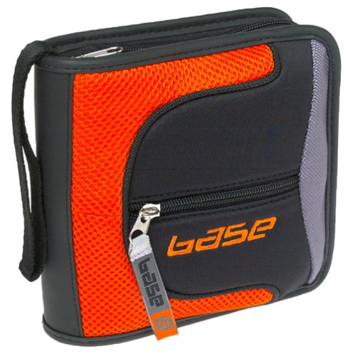 UPC 797958009635, Motion Systems 32-Disc CD Wallet (Orange/Black) (BEDW032BORG)