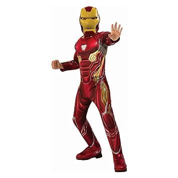 Desconocido Disfraz de Iron Man Deluxe Muscle de Halloween sin ...