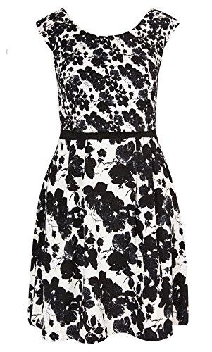 Designer Plus Size DRESS DOUBLE TAKE - Ivory - 22 / XL | City Chic