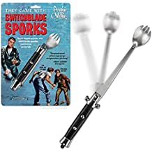 Switchblade Spork Kitchen Gag Portable Utensil