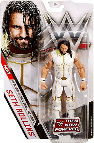 WWE Basic Series Then Now Forever Seth Rollins Action Figure 6.5 Inches