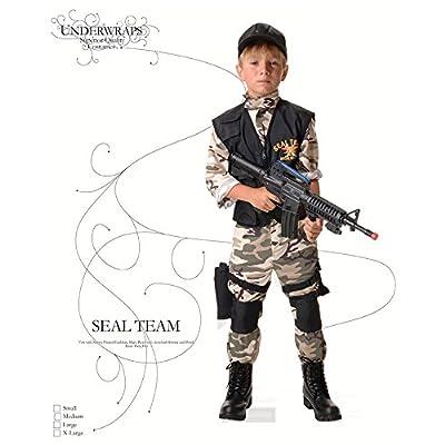 Underwraps Seal Team Childs Costume: Toys & Games