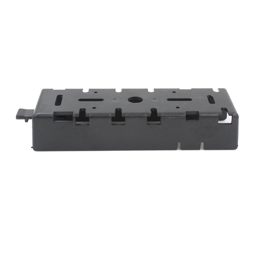 AOER® Rigid Plastic Panel Mount Black Car Frame Bracket for Wireless Transceiver YAESU Radios FT-8800 FT-8800R FT-8900 C04