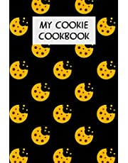 My Cookie Cookbook: Cookbook with Recipe Cards for Your Cookie Recipes