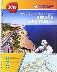 España & Portugal formato A-4 Atlas de carreteras y turístico Atlas de carreteras Michelin: Amazon.es: MICHELIN: Libros
