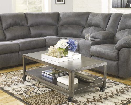Amazon.com: Signature Design by Ashley T560-1 Hattney Collection Coffee  Table, Gray: Kitchen & Dining - Amazon.com: Signature Design By Ashley T560-1 Hattney Collection