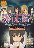 SELECTOR INFECTED & SPREAD WIXOSS - 24 EPS / English Subtitle