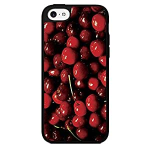 Covered in Cherries Hard Snap on Phone Case (iPhone 5c)