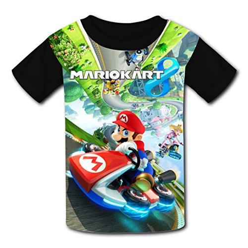 Price comparison product image ASD JKL Super_Mario_Kart Fashion 3D Printing Children's T-Shirt