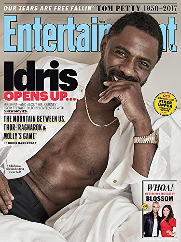 Entertainment Weekly Magazine (October 13, 2017) Idris Elba Cover by Entertainment Weekly
