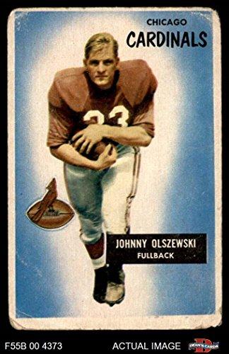 1955 Bowman # 3 John Olszewski Chicago Cardinals-FB (Football Card) Dean's Cards 1.5 - FAIR Cardinals-FB ()