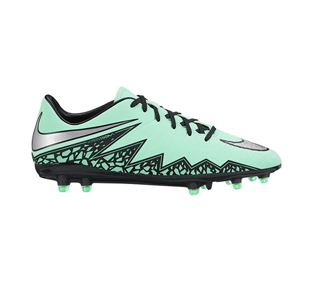 lowest price cf473 11cf0 Nike Hypervenom Phelon II FG Soccer Cleat (Green Glow) Sz. 8  Buy Online at  Low Prices in India - Amazon.in