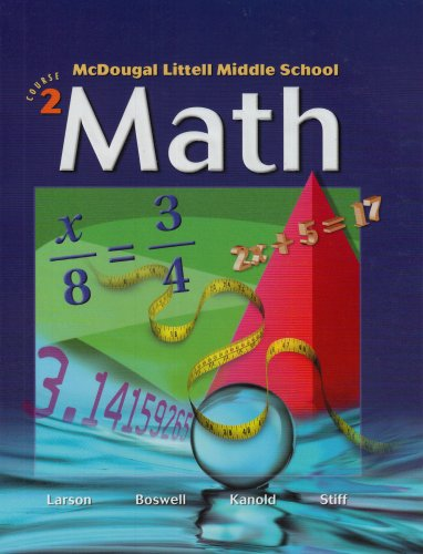 McDougal Littell Middle School Math, Course 2