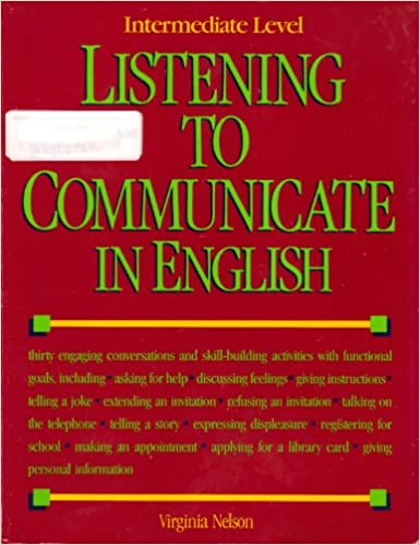 Amazon listening to communicate in english intermediate level listening to communicate in english intermediate level book and cassette edition stopboris Images