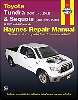 Toyota Tundra Parts Diagram Pdf.Toyota Tundra Sequoia Tundra 2007 Thru 2012 Sequoia