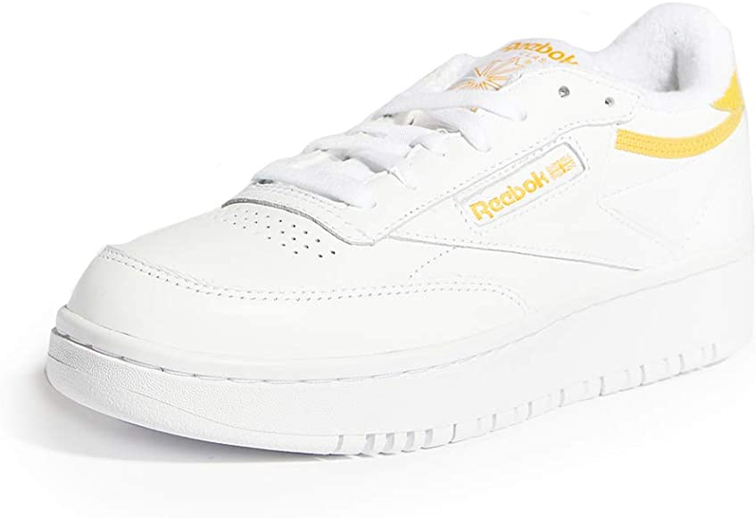 Club C Double Lace Up Sneakers, White