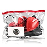 Boxing Reflex Ball - Boxing Equipment, Adjustable Head Band, Gloves, Extra String, Instruction and Repair Guide Included - Perfect For Reflex/Speed Training Improve Reactions for Kids Aswell