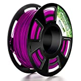 Tactink Pro 1.75mm 3D PLA Printer Filament Purple 2.2 lb (1 kg) Spool, Dimensional Accuracy +/- 0.03
