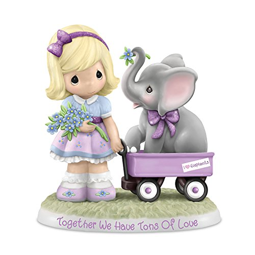 - Precious Moments Together We Have Tons Of Love Alzheimer's Awareness Figurine by The Hamilton Collection