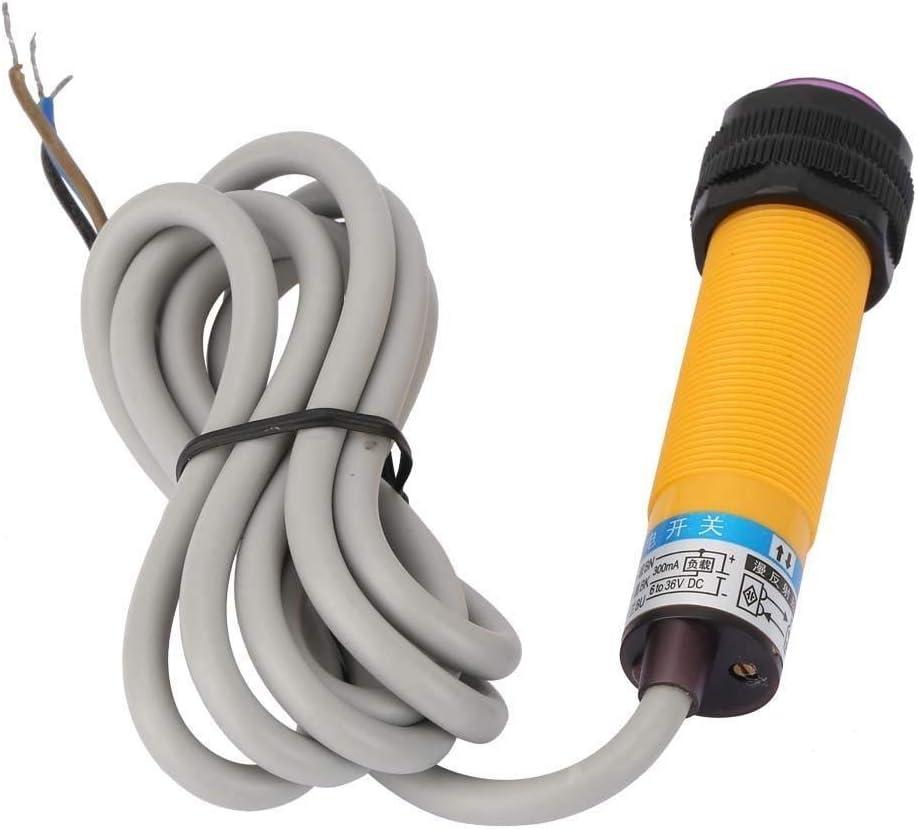 Rockyin 10-30 cm Cellule photo/électrique NPN Capteur de proximit/é DC6-36V E3F-DS30C4