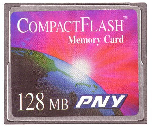 PNY 128 MB CompactFlash Flash Memory Card