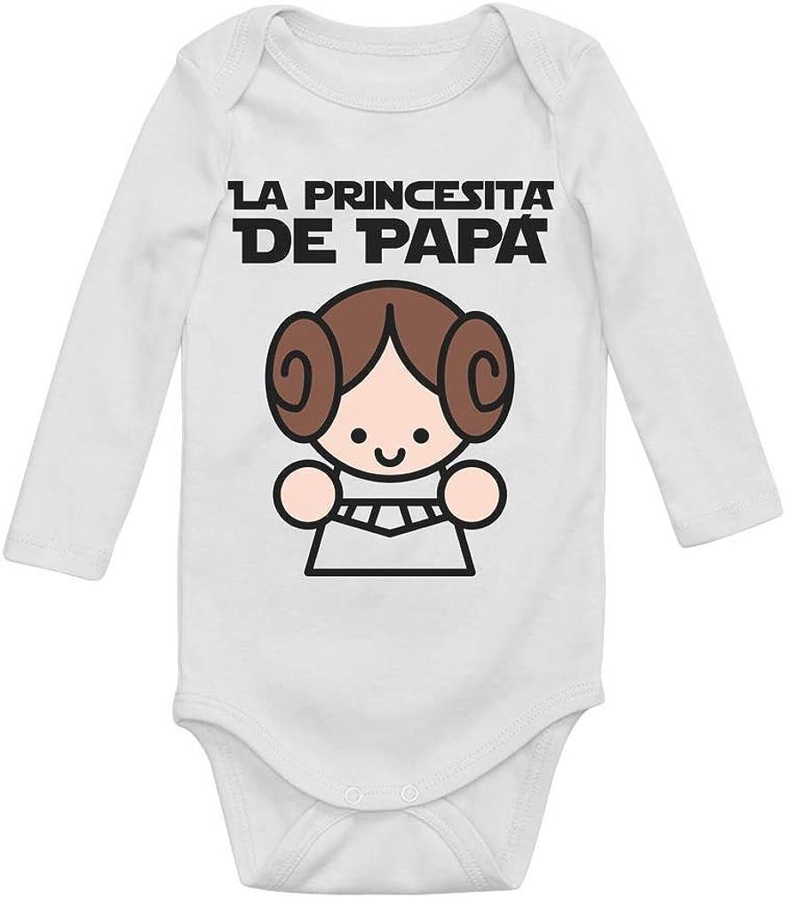 Body de Manga Larga para bebé Regalos Originales para Padres Primerizos - La Princesita de Papá