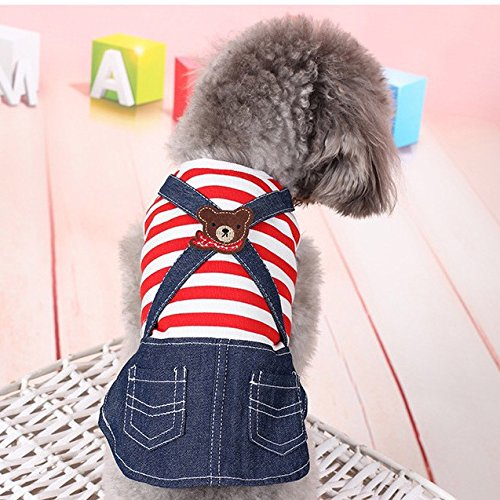 XS Generic 9685 Robes amp; Jean Taille Style Noir Dog aCZUCxq6w
