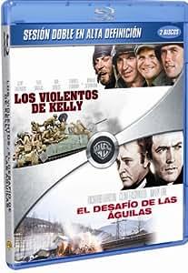 Los violentos de Kelly + El desafío de las águilas [Blu-ray]