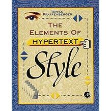 The Elements of Hypertext Style