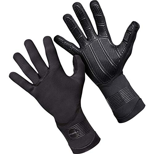 O'Neill Psycho Tech 1.5mm Gloves, Black, -