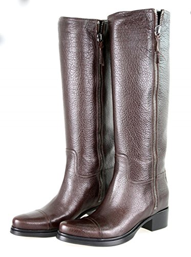Miu Leather Women's Miu Boots 5W8928 4w8A7Sx