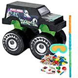 BirthdayExpress Monster Jam Party Pinata Kit With Filler