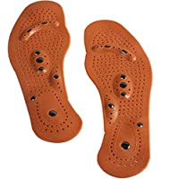 SPENDEAL 1Pair Magnetic Therapy Magnet Health Care Foot Massage Insoles Men Women Comfort Pads Weight Loss Foot Care…