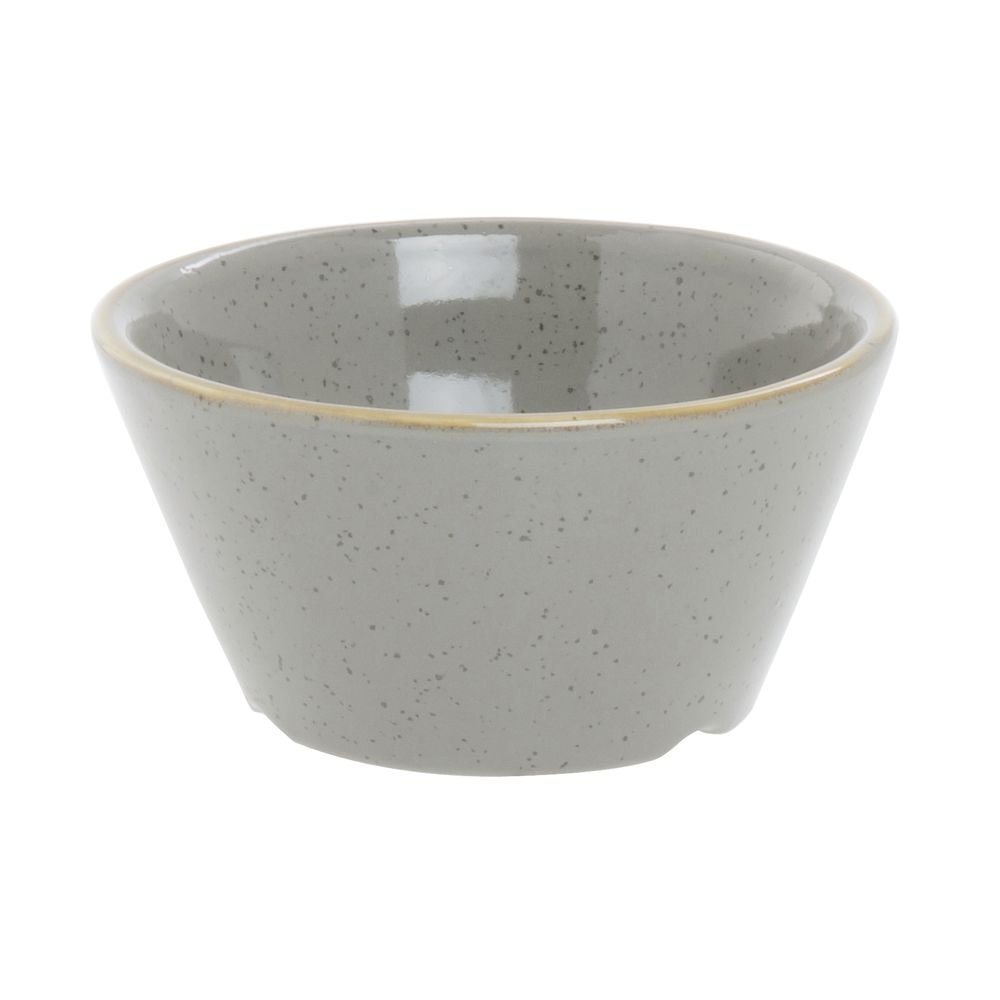 Churchill Super Vitrified Stonecast China 3 oz Grey Sauce Dish