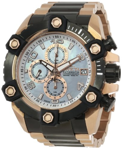 Invicta Men's 13771 Arsenal Analog Display Swiss Automatic Two Tone Watch