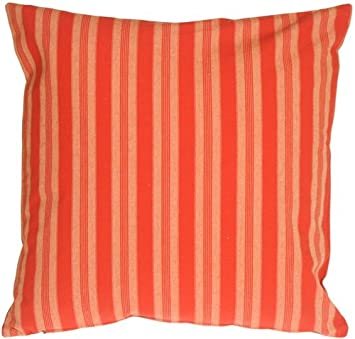 Amazon.com: Almohada Decor – Toscana rayas en rojo ...