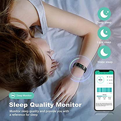 Fitness Tracker - Activity Tracker Watch with Heart Rate and Sleep Monitor, Waterproof Watch with Alarm Clock, Calorie… 5