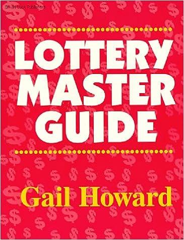 Lottery Master Guide: Gail Howard: 9780945760115: Amazon com