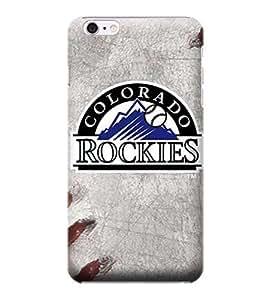 iPhone 6casos, MLB–Colorado Rockies Juego Bola–iPhone 6casos–PC de alta calidad funda