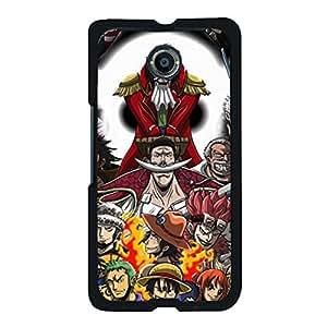 Google Nexus 6 Original Cover Case with Creative One Piece Anime Element,One Piece Logo Cartoon Style Cell Phone Case