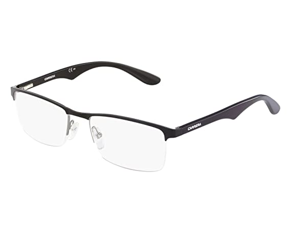 7938fff46b5e Carrera eyeglasses CA 6623 7A1 Metal Shiny Black - Silver  Amazon.ca   Clothing   Accessories