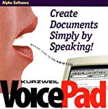 Kurzweil Voicepad for Windows: Create Documents Simply By Speaking to Your Computer