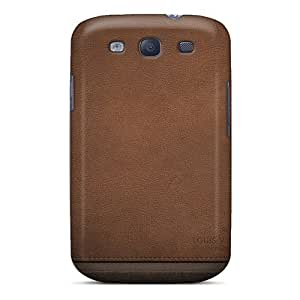 High-quality Durability Case For Galaxy S3(leather Background)