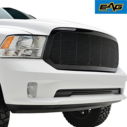 EAG Replacement Billet Grille for 13-18 Dodge Ram 1500 (Inserts Dodge Grille Ram)