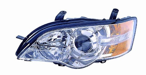 (For 2006 2007 Subaru Legacy/Outback Headlight Headlamp Assembly Driver Left Side Replacement Capa Certified SU2502123)