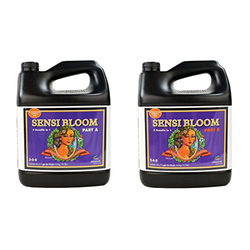 (Advanced Nutrients pH Perfect Sensi Bloom Part A & B Soil Amendments, 4 L)