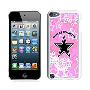 Dallas Cowboys White Case for iPod Touch 5,Prefectly fit and directly access all the features